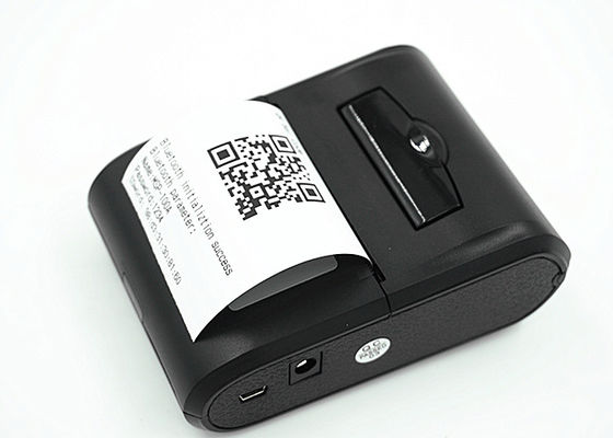 Bluetooth interface 58mm paper width portable thermal printer support android systems