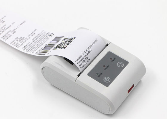 Cina Black And White Handheld Thermal Printer , Portable Receipt Printer Performance pabrik