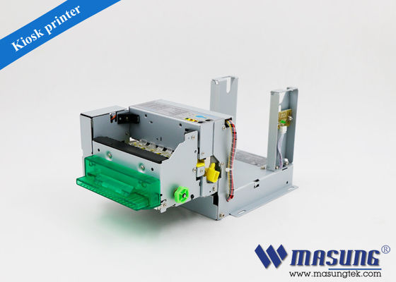 "Cina Horizontal Mount Ticket Dispenser 3 ""Label Modul Printer Dengan Unit Presenter pabrik"